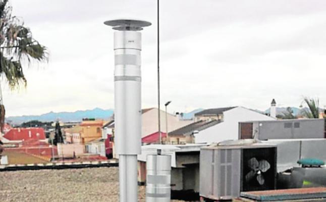 Medio Ambiente instala un medidor de la calidad del aire en Pozo Estrecho