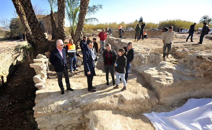 Inician la recuperación del molino del Batán y su torre árabe en Zarandona