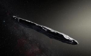 El primer visitante interestelar vaga de manera caótica por el espacio