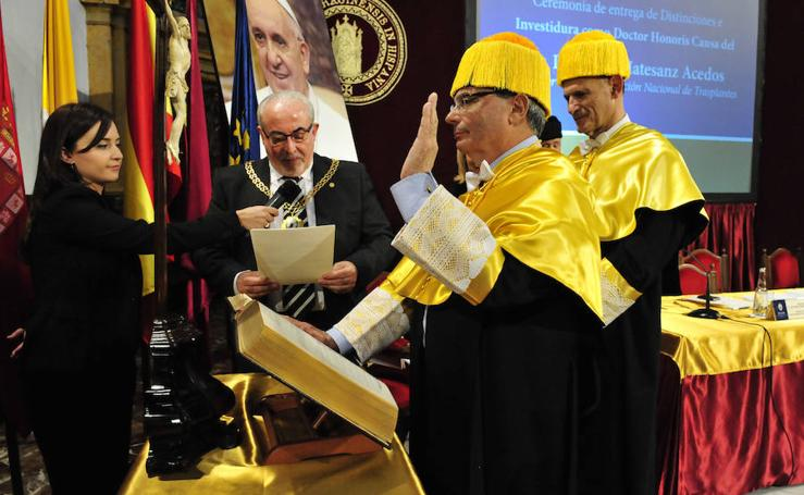 Rafael Matesanz es investido Doctor Honoris Causa por la UCAM