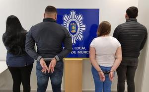 Cae en Alhama una banda reclamada judicialmente desde Cataluña por presuntos robos con violencia