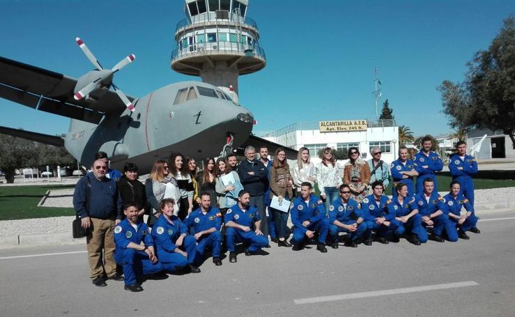 Jornada de Comunicación y Prensa en la Base Aérea de Alcantarilla