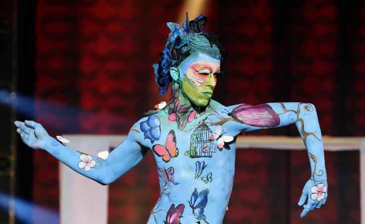 Carnaval en la piel