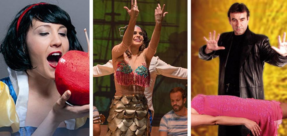 Una Sirenita flamenca, magia y cuentos