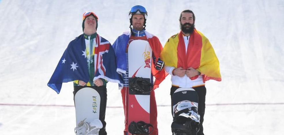 Regino Hernández da a España la primera medalla olímpica de Invierno desde 1992