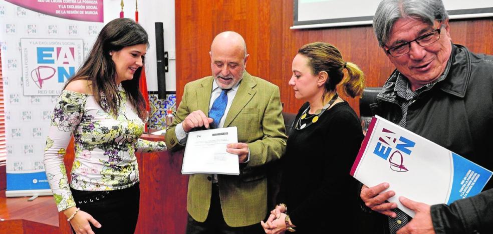 La exclusión social es menor en el municipio de Murcia