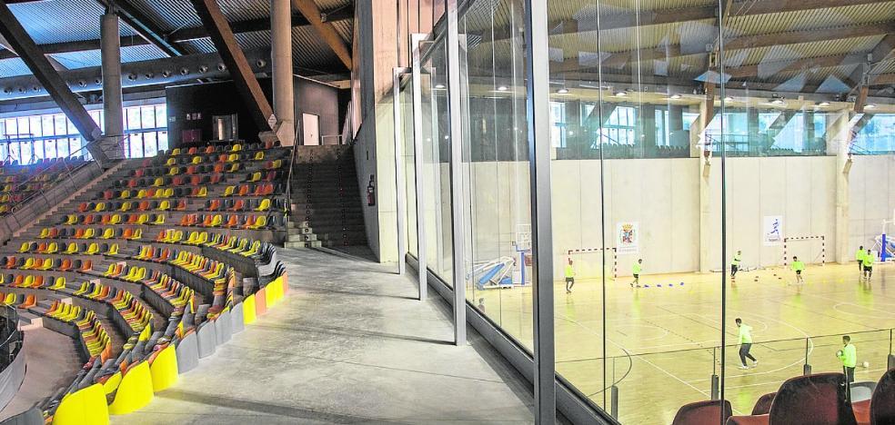 La apertura definitiva del Palacio de Deportes exige otra inversión de 250.000 euros
