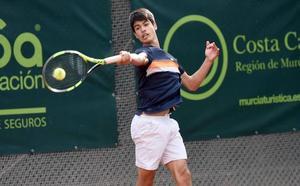 Alcaraz cae en cuartos del ITF Futures de Murcia
