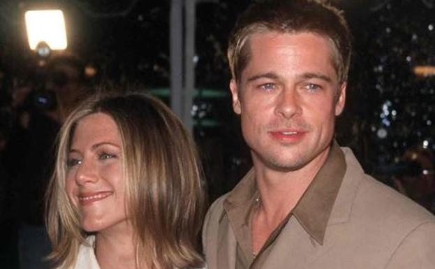 Brad Pitt y Jennifer Aniston./