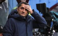 Valverde: «Cuando se quedaron con uno menos fue más sencillo»