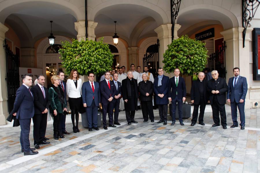 Talavera dedica su pregón a las mujeres que engrandecen la Semana Santa de Murcia