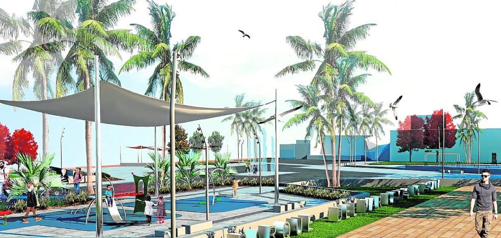 El Parque del Mar tendrá escenario, juegos saludables y chorros de agua