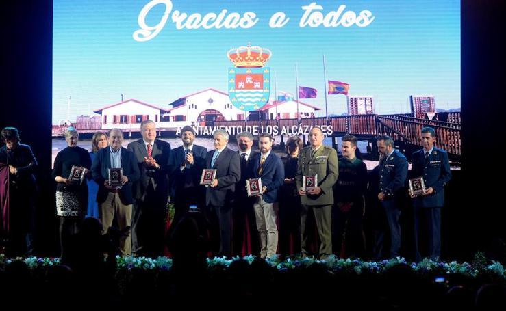 Reconocimiento a voluntarios y profesionales que lucharon contra las inundaciones de Los Alcázares