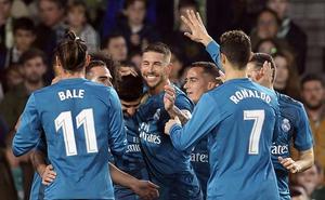 El Madrid gana a tiro limpio