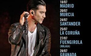 Alejandro Fernández actuará en la plaza de toros de Murcia el 22 de julio