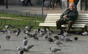 No hay bastantes ocupados por pensionista