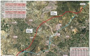 El Arco Norte expropiará 265 fincas entre Murcia y Molina