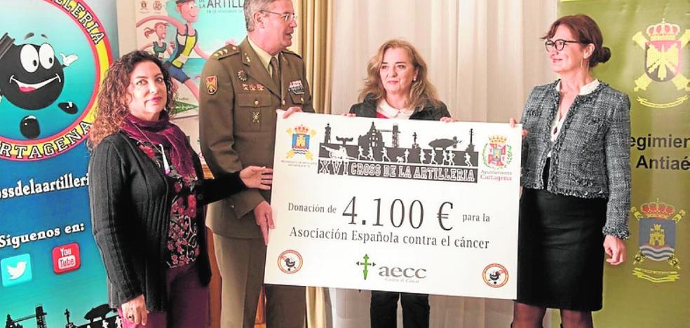 Entregan 4.100 euros para la lucha contra el cáncer