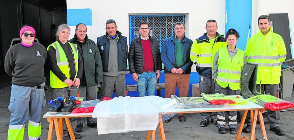 35.000 euros para ropa del personal municipal de Jumilla