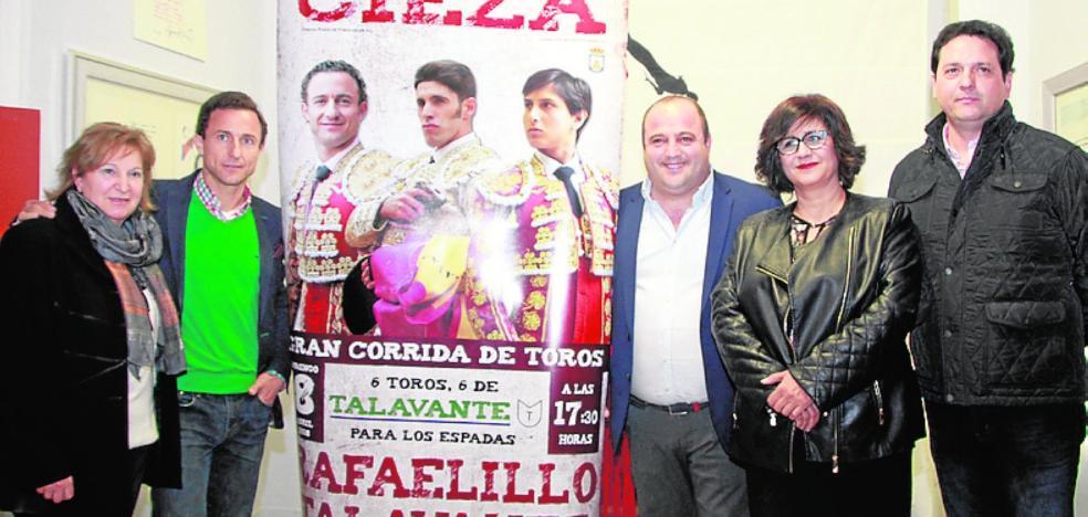 Rafaelillo, Talavante y Roca Rey, corrida de lujo en Cieza el 8 de abril