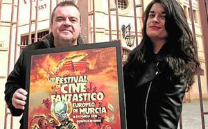 Murcia invadida por alienígenas, tema del cartel del VII Festival de Cine Fantástico