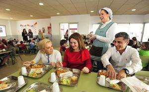 Educación adelanta la convocatoria de ayudas de comedor del próximo curso