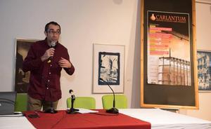 Miguel Rubio habla sobre la arquitectura de Mazarrón en la apertura de las jornadas Carlantum