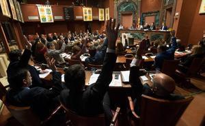 PP, PSOE y Cs apoyan el Manifiesto Levantino y Podemos se abstiene