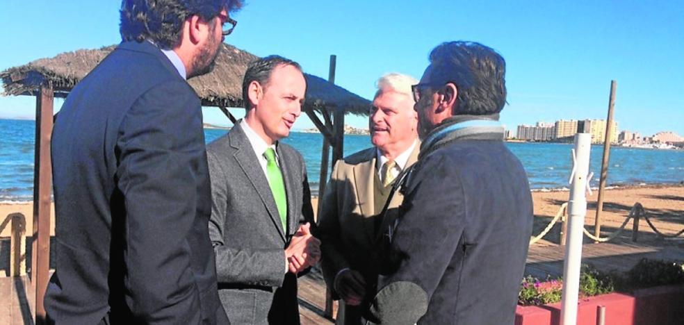 La Comunidad pretende convertir el Mar Menor en un «campo de regatas»