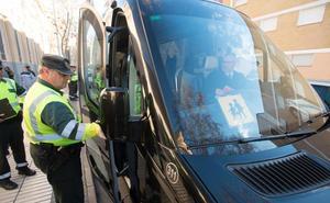 Los controles a buses escolares arrancan con un chófer detenido con 0,67 de tasa de alcohol
