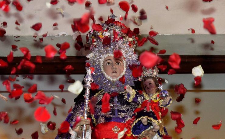 La Virgen de la Fuensanta baja hasta la capital