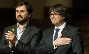 JxCat registra en solitario una propuesta para legitimar a Puigdemont sin el concurso de ERC