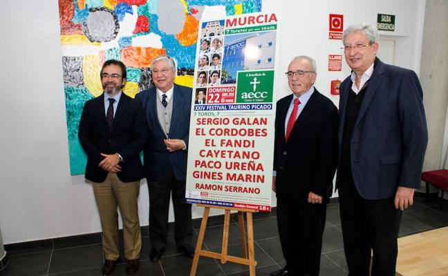 El Cordobés, Cayetano y El Fandi torearán a beneficio de la Asociación Contra el Cáncer
