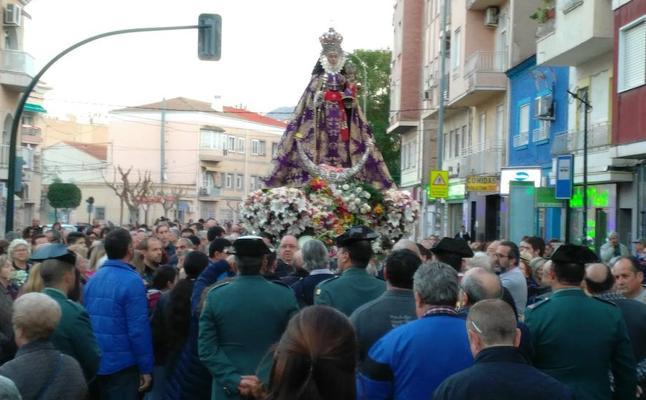 La Morenica ya está de nuevo en Murcia