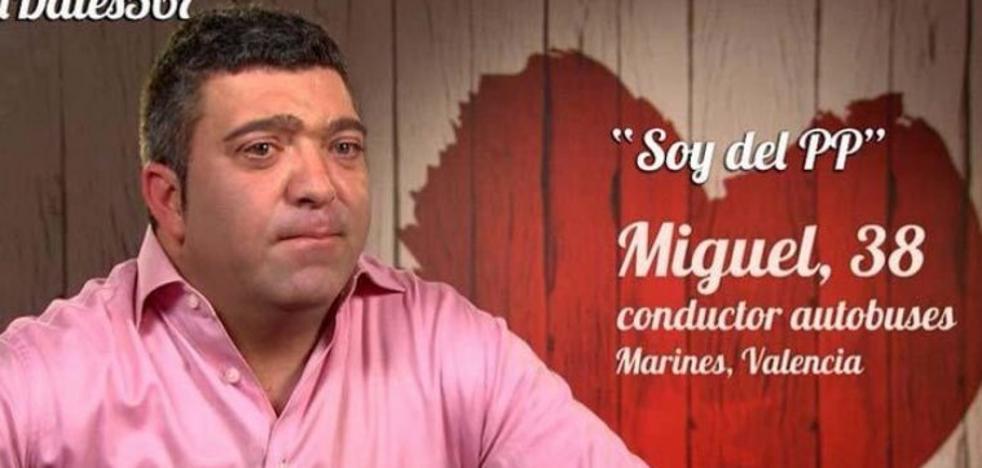 Un candidato a alcalde del Partido Popular aparece buscando pareja en First Dates
