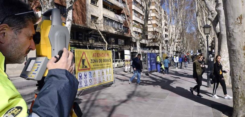 Comienzan las obras de peatonalización de la avenida de Alfonso X