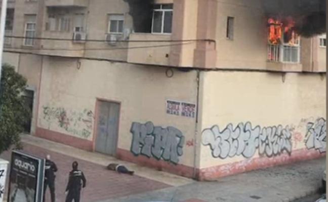 La Policía investiga el incendio de San Antón y los vecinos piden tener una unidad de bomberos