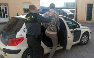 Arrestado por 14 robos en casas de campo de Cehegín