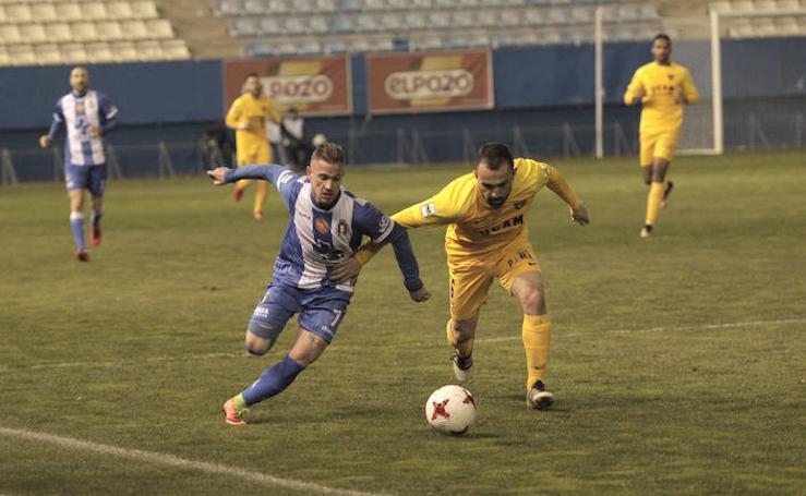 El Lorca Deportiva supera los miedos en casa a costa del UCAM CF (1-0)
