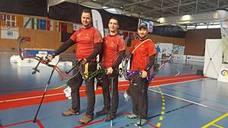 El equipo de tiro con arco de la Región se proclama campeón de España