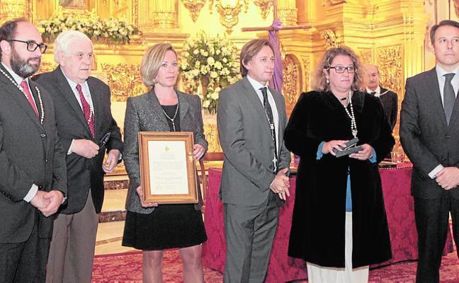 Medalla de Oro del Cabildo del Rosario a título póstumo para José María Campoy