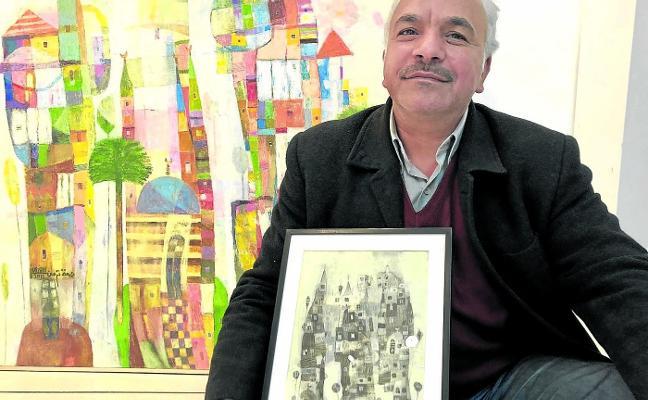 El pintor que huyó del Daesh