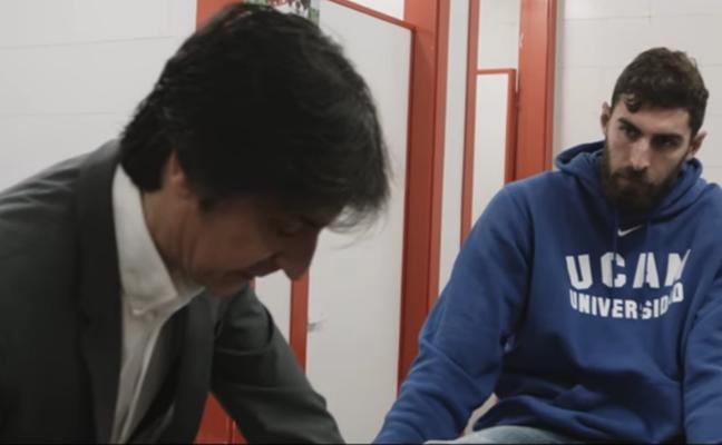 El UCAM Murcia CB estrena un documental sobre la lesión y puesta a punto de Antelo