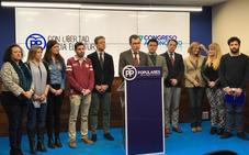 Alcaldes de Lorca, Archena, Yecla, y la portavoz regional, coordinadores del cónclave popular