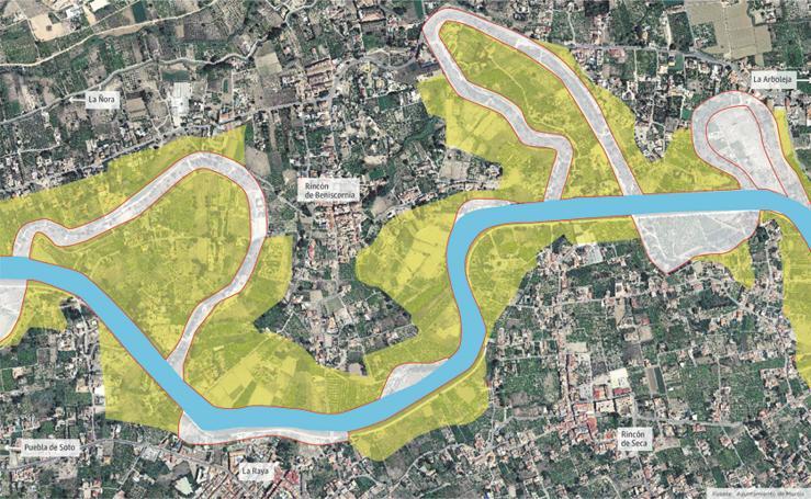 Proyecto para la recuperación agroambiental del río Segura