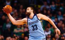 Marc Gasol no impide una nueva derrota de los Grizzlies
