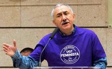 El líder de UGT defiende en Murcia una ley de transparencia salarial