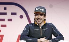 Alonso da su aprobación al motor Renault