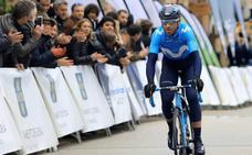 Alejandro Valverde correrá este sábado la Strade Bianche