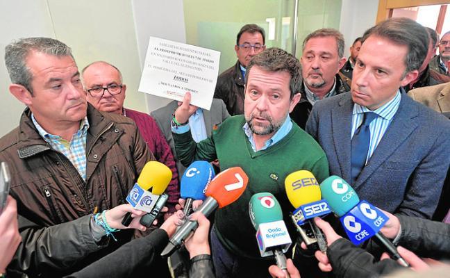 Los regantes piden a los lorquinos que paren el miércoles «para reclamar agua»